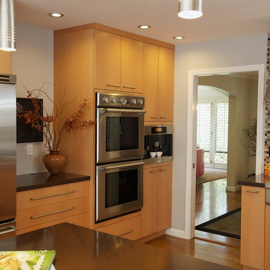 Redwood city residence kitchen remodel the cabinet center for Kitchen design 94070